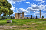 Temple of Olympian Zeus in Athens,Tempel des Olympischen Zeus in Athen,yacht charter greece,Yachtcharter Griechenland,voguesails.com