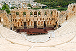 Herodion Theatre in Athens,Herodion Theater in Athen,rent a boat Greece prices,mieten ein Boot Griechenland Preise,voguesails.com