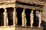 Caryatids on the Acropolis in Athens,Karyatiden auf der Akropolis in Athen,rent boat greece,mieten Boot Griechenland,voguesails.com